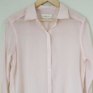Abercrombie & Fitch thin button down top S